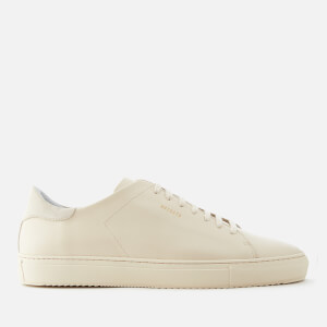 Axel Arigato Men's Clean 90 Leather Monochrome Trainers - Beige