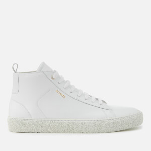 Axel Arigato Men's Chukka Leather Hi-Top Trainers - White
