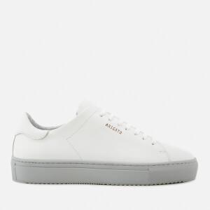 Axel Arigato Women's Clean 90 Leather Trainers - White/Grigio