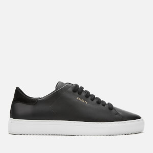 Axel Arigato Men's Clean 90 Leather Cupsole Trainers - Black/White