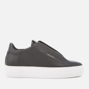 Axel Arigato Women's Clean 90 Laceless Strap Leather Trainers - Black