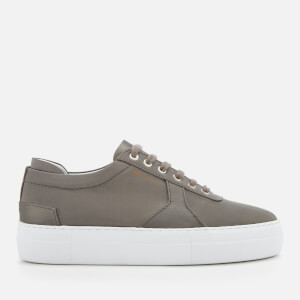 Axel Arigato Women's Platform Satin Trainers - Military