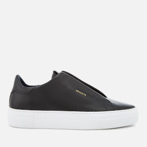 Axel Arigato Men's Clean 90 Laceless Strap Leather Trainers - Black