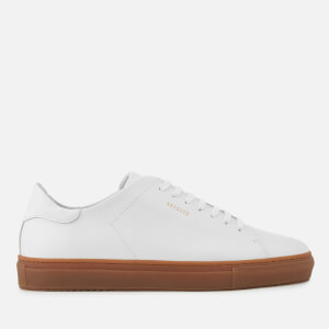 Axel Arigato Men's Clean 90 Leather Trainers - White/Gum Sole