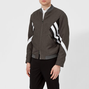 Neil Barrett Men's Modernist Blouson - Grey/Black