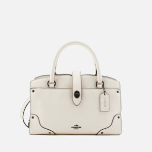 Coach Women's Grain Mercer 24 Satchel - Chalk