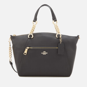 Coach Women's Chain Prairie Satchel - Black