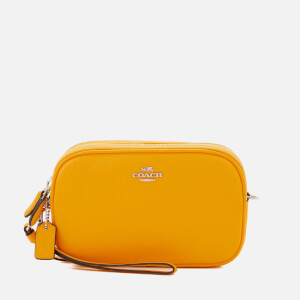 Coach Women's Cross Body Bag Clutch - Yellow