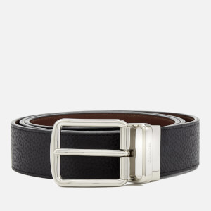 Coach Men's 38mm Boxed Belt - Dark Saddle