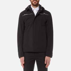 Herno Men's Bike Hooded Short Jacket - Black