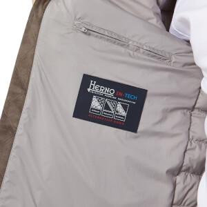 Herno Men's Luxury Padded Bomber Jacket - Perla: Image 5