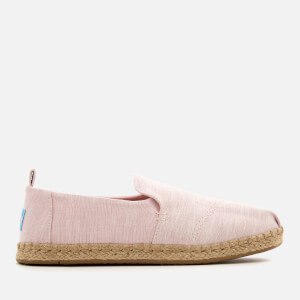 TOMS Women's Deconstructed Alpargata Chambray Espadrilles - Blossom: Image 1