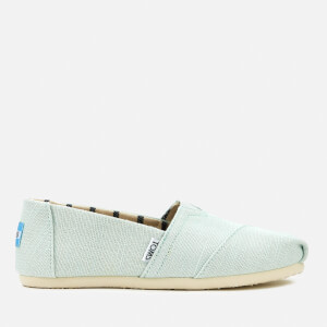 TOMS Women's Alpargata Slip-On Pumps - Aqua Glass