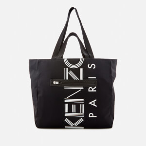 KENZO Women's Logo Nylon Tote Bag - Black