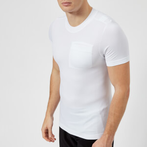FALKE Ergonomic Sport System Men's Short Sleeve Pocket T-Shirt - White