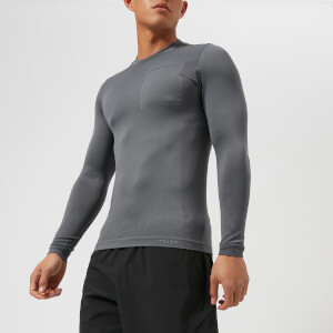 FALKE Ergonomic Sport System Men's Long Sleeve Top - Concrete