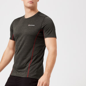 Montane Men's Dart Short Sleeve T-Shirt - Shadow/Alpine Red