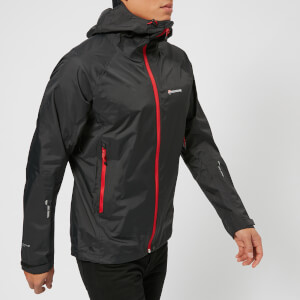 Montane Men's Atomic Jacket - Black/Alpine Red