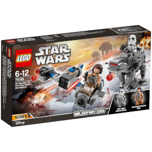 LEGO Star Wars : Microfighter Ski Speeder™ vs. Quadripode du Premier Ordre™ (75195)