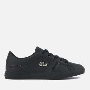 Lacoste Kids' Lerond 218 2 Trainers - Black