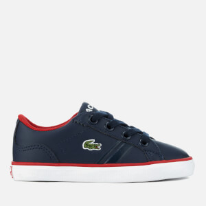 Lacoste Toddlers' Lerond 218 2 Trainers - Navy/Red