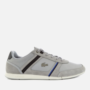 Lacoste Men's Menerva 118 1 Trainers - Grey/Black