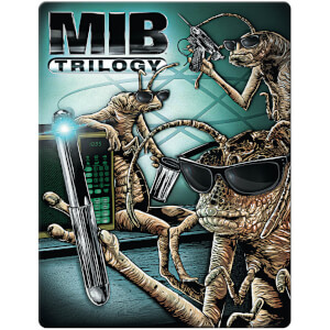 Men In Black Trilogy: 4k Ultra HD (Includes 2D version) - Zavvi UK Exclusive Limited Edition Steelbook