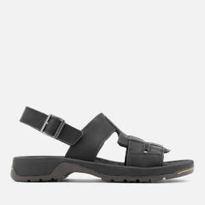 Dr. Martens Men's Wharf Piedmont Split Sandals - Black