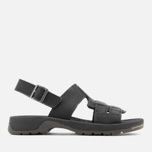 Dr. Martens Men's Wharf Piedmont Split Sandals - Black