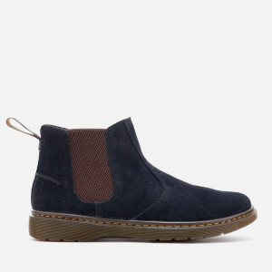Dr. Martens Men's Lyme Bronx Suede Low Boots - Navy