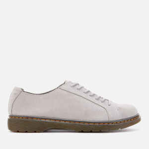 Dr. Martens Men's Islip Bronx Suede Lace Shoes - Mid Grey