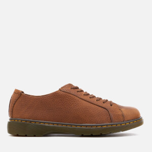 Dr. Martens Men's Islip Grizzly Lace Shoes - Tan