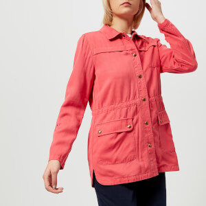 Joules Women's Cassidy Safari Jacket - Red Sky