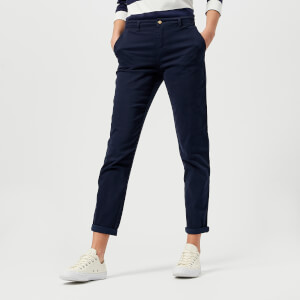 Joules Women's Hesford Chino Trousers - French Navy