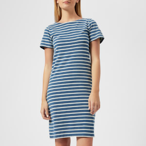 Joules Women's Riviera Short Sleeve Jersey Dress - Saltwash