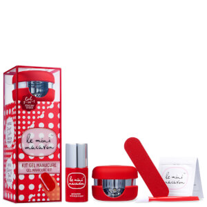 Kit de manicura en gel de Le Mini Macaron - Cherry Red