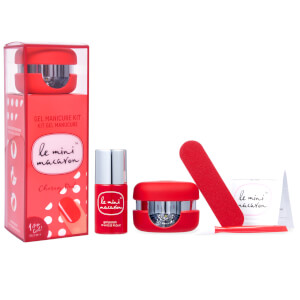Le Mini Macaron Gel Manicure Kit - Cherry Red