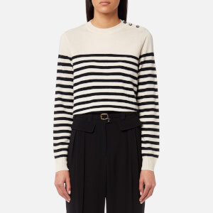 A.P.C. Women's Petra Jumper - Blue And White