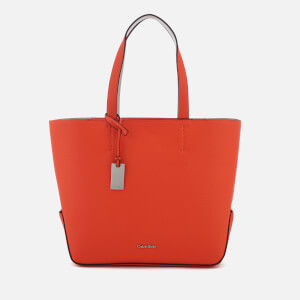 Calvin Klein Women's Edit Medium Shopper Bag - Burnt Orange