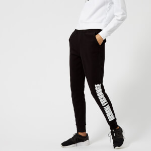 Armani Exchange Women's Logo Joggers - Black