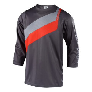 Troy Lee Designs Ruckus Prisma Jersey - Grey/Orange