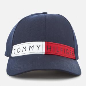 Tommy Hilfiger Women's Logo Flag Cap - Navy