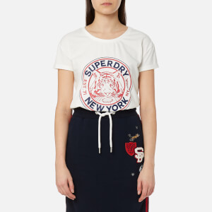 Superdry Women's Jamie Boyfriend T-Shirt - Alumni Cream