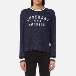 Superdry Women's Brentwood Sweatshirt - Captain Navy Marl