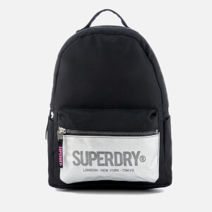Superdry Women's Block Out Midi Backpack - Black