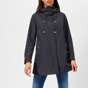 Emporio Armani Women's Caban Coat - Blue
