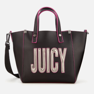 Juicy Couture Women's Arlington Mini Soft Tote Bag - Gunmetal Metallic