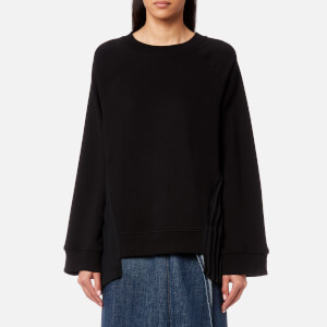 MM6 Maison Margiela Women's Pleated Sweatshirt - Black