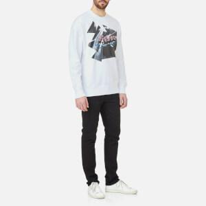 Versus Versace Men's Printed Sweatshirt - White/Stampa: Image 3
