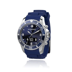 MyKronoz Zeclock Bluetooth Smartwatch – Blau